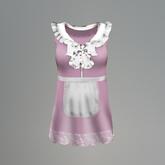 Pink Maid Slink Dress box