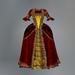 Red Versailles Slink Dress