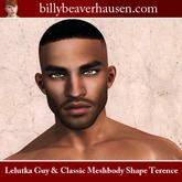 Lelutka Guy & Classic Meshbody Shape Terence