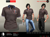 A&D Clothing - Polo -Kenneth- Coffee