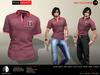 A&D Clothing - Polo -Kenneth- Burgundy