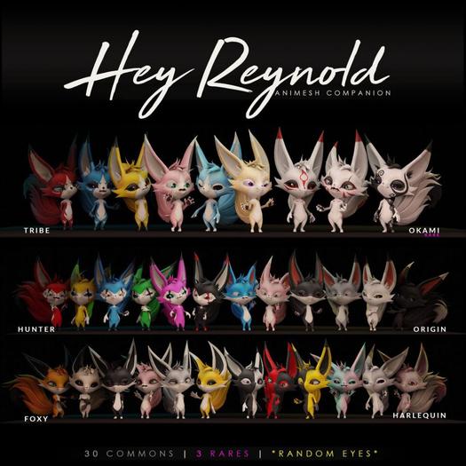 HORNTAIL - [OKAMI-YEN] Reynold Companion <BOX> RARE