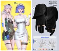 MIWAS / Mimi Gloves #Black