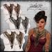*League* Vintage Scarves -Metallic Silks Fatpack