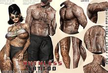 Hoodlem - Ruthless Unisex Tattoo ( Omega / Legacy / BOM )