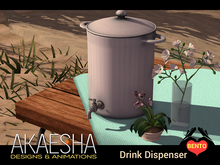 *- Akaesha's -* Drink Dispenser Set
