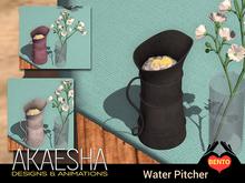 [Akaesha] Water Pitcher (Metal)
