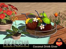 [Akaesha] Coconut Drink Giver