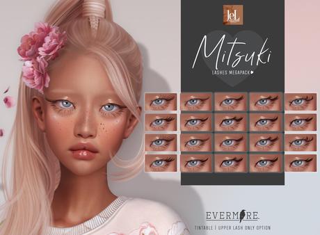 EVERMORE. [ mitsuki - lashes ] - LELUTKA - wear me