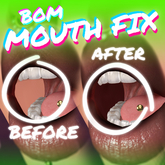 ALL HEADS // BOM // MOUTH FIX // TINTABLE