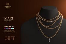 Romazin - Necklace <Mari> - GIFT