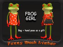 FROG GIRL AVATAR