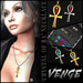 VENGE -  ' Crystal Of Ra ' Necklace  *Add Me*