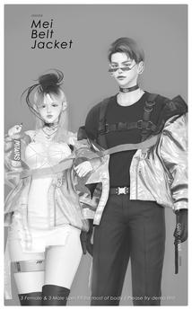 MIWAS / Mei Belt jacket DEMO