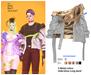 MIWAS / Mei Belt jacket #Gray