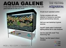 Aqua Galene (mesh aquarium)