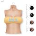 GAWK! Yellow/Blue Summer Bandeau Top | for Maitreya | Maitreya Petite | Legacy | Legacy Perky