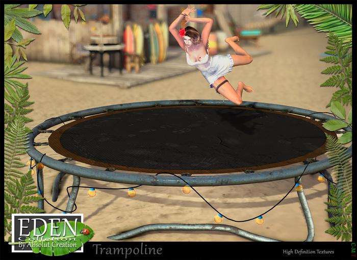 (*.*) EDEN Trampoline