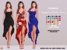 [hh] Carmella Asymmetrical Hemline Dress