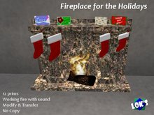 *Lok's* Fireplace for the Holidays - True Granite