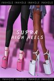 .Inkhole. Supra High Heels (3sizes) GigaPack(wear)