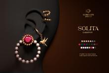 Romazin - Earrings <Solita>, FatPack