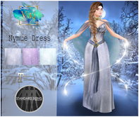 .:BaM:. Nymue Dress - Winter Princess