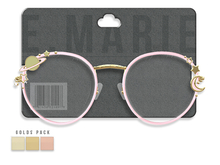 e.marie // Solar Glasses - Golds