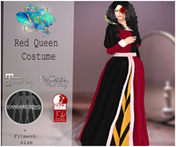 .Viki. Red Queen Costume