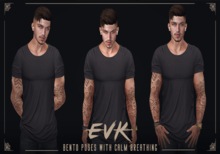 [ E V K ] Calm Breathing Poses #1