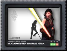 [CrashD] Blademaster Stance Pack
