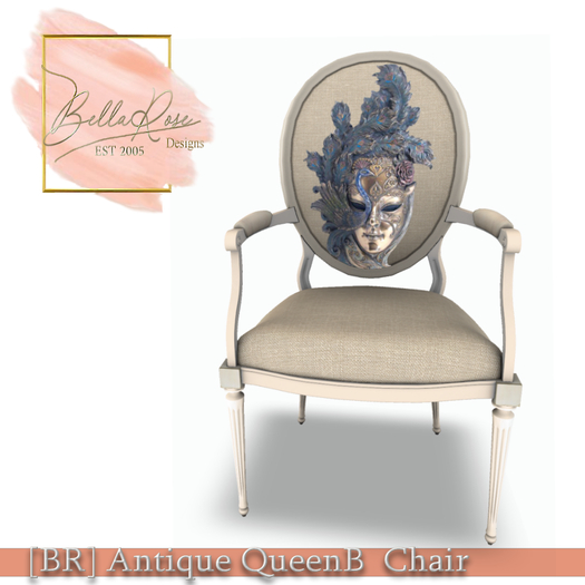 [BR] Antique QueenB  Chair - 21 Sits
