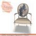 [BR] Antique Zebra II Chair - 24 Sits
