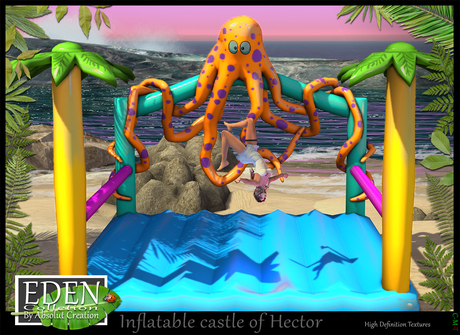 (*.*) Inflatable castle of Hector