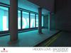 Hidden Love - Backdrop - (Neon Nights Set)