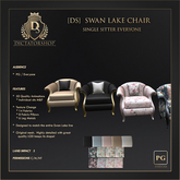 [Ds] SWAN LAKE Chair Single Sitter PG