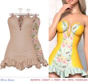 .Safira. Myra Dress Nude