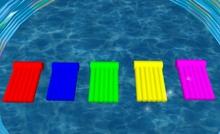 Sun の子供向けラフト - 5 色の選択を選択するのには、タッチで楽しい !