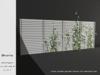 @home: white wooden garden fence