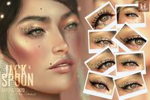 Jack Spoon . Krystal Tokyo Glitter liners (Lelutka Evolution)