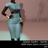 Slink ~ Skylar Outfit ~ Solid Sky