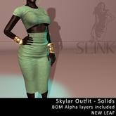 Slink ~ Skylar Outfit ~ Solid New Leaf