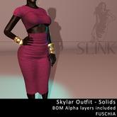 Slink ~ Skylar Outfit ~ Solid Fuschia