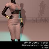 Slink ~ Skylar Outfit ~ Solid Blush