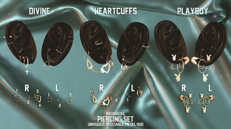 Magnoliac - Piercing Set