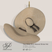 Snowpaws - Yae Natural Straw Hat - Tan