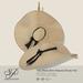 Snowpaws - Yae Natural Straw Hat - Black
