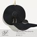 Snowpaws - Yae Black Straw Hat - Tan