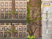 {Ymas Poses} Building backdrop