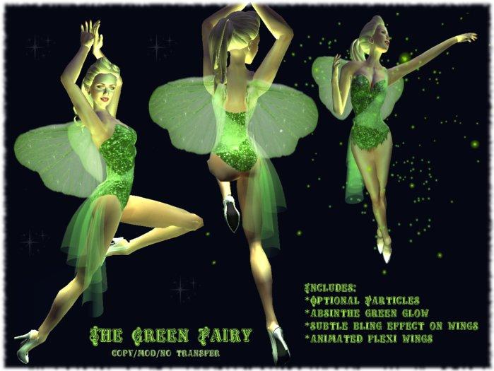 Second Life Marketplace Vita Bella The Green Fairy